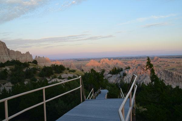 The Cliff Shelf Nature Trail.