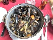 Mussels in Bruge.