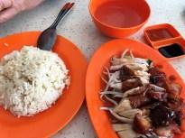 Hawker Marekt delights in Singapore.
