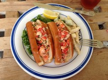 Florida Lobster rolls.