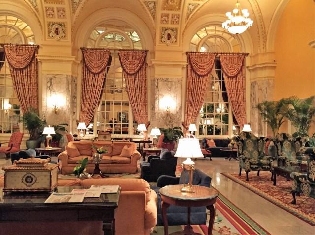 Lobby of the Hermitage Hotel, Nashville