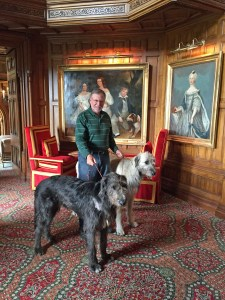 Going to the hounds at Ashford Castle in Ireland.