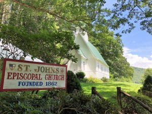 St. John's Episcopal Church founded in 1862, NC.