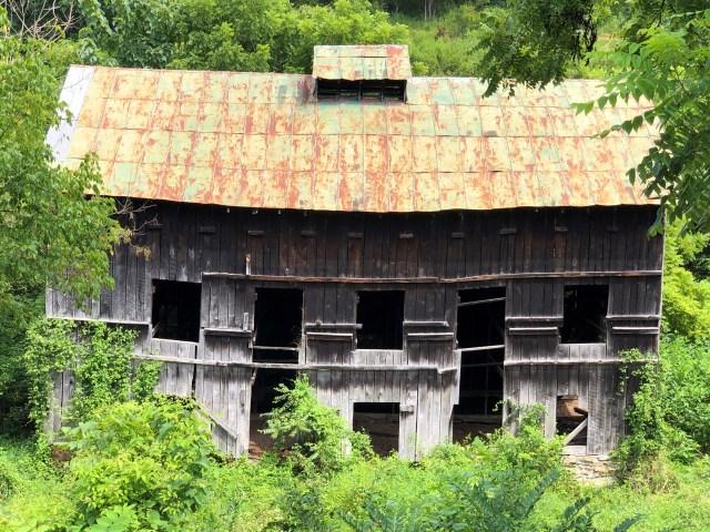 Historic Brigman Barn, Madison County, NC.