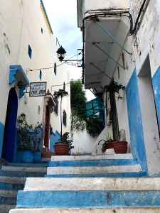 The Medina in Tangier.