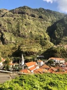Madeira scenery.