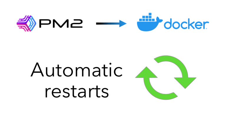 From PM2 to Docker: Automatic Restarts