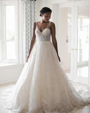 Tulle All-Over Lace Maxims wedding, Wedding dress, Boho, Line A