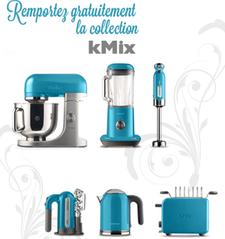 jeu concours kenwood gagnez un robot de cuisine kmix maximum chantillons. Black Bedroom Furniture Sets. Home Design Ideas
