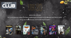 Club UBI SOFT : 7 Jeux pour PC offerts ( Prince of Persia, Rayman, Assassin's Creed … )