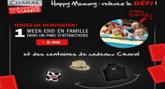 Charal Concours Happy Memory 141 lots à gagner