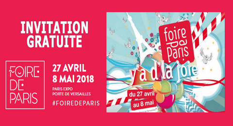 Invitation gratuite foire de paris 2018 maximum chantillons - Foire de paris invitation ...