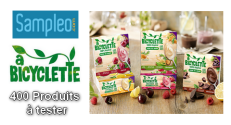 Test Gratuit Sampleo : Desserts A Bicyclette Avoine-Riz-Amande
