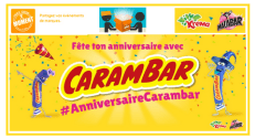 Very Good Moment Nouvelle campagne de Test : #AnniversaireCarambar