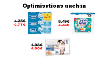 Auchan : Promotions et optimisations (Du 10 Octobre 2018 au 16 octobre 2018)