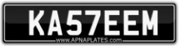 ka57eem - kasseem - kaseem - kasim -kasam number plate