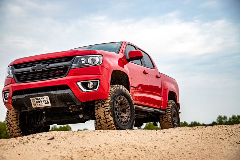 Chevy Colorado - MEOFFROAD, more than Jeeps