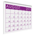 Looking Ahead – Marketing Calendar August 2011