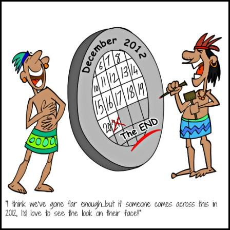 Mayan Calendar Comic