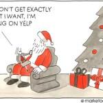 A Selection Of Christmas Marketing Cartoons 2013