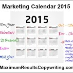 Looking Ahead – Marketing Calendar 2015