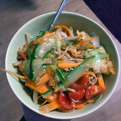 Supersonic soba salad