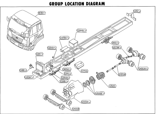 small resolution of nissan cgb45a group location diagram 1