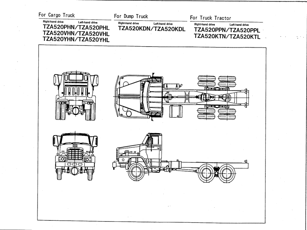 medium resolution of nissan tza520 rf8 engine nissan diesel truck