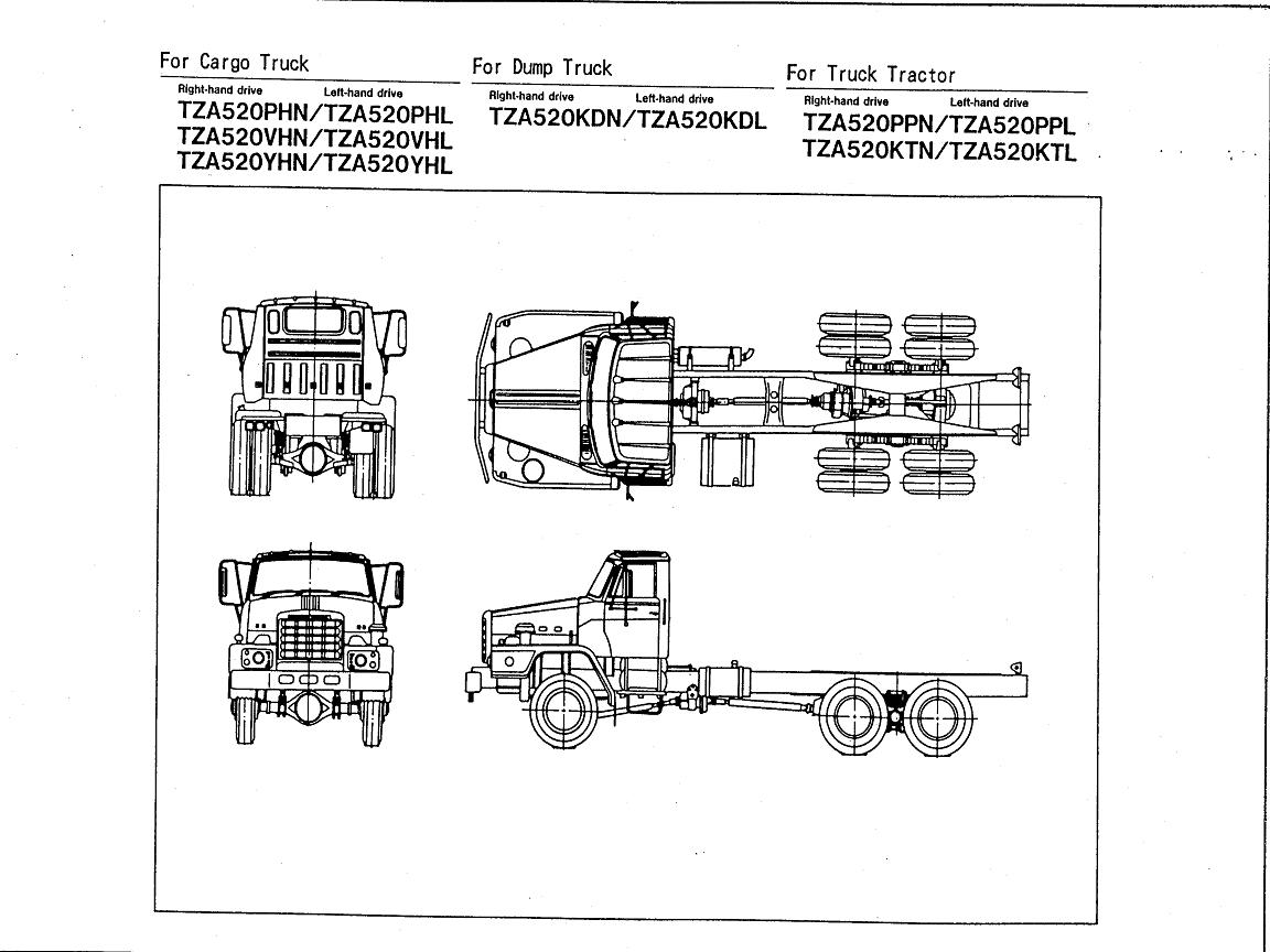 hight resolution of nissan tza520 rf8 engine nissan diesel truck