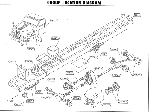 small resolution of ud nissan truck parts tza520 rf8 diesel engine maxindo dump truck engine diagram