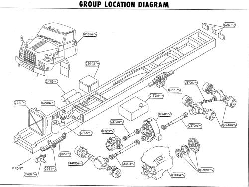 small resolution of nissan tza520 rf8 location diagram