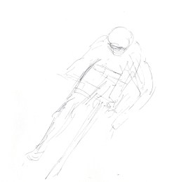 Maxine Dodd, study drawing, cornering