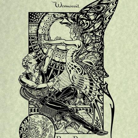 Worm Wood Atremesia Absinthium Magical Botanical Art Print by Maxine Miller