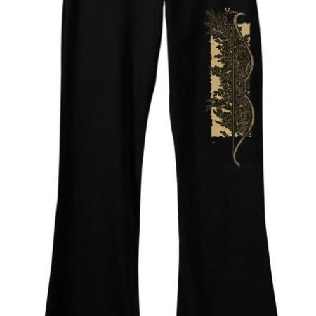 Yew Yoga Pants: art by Maxine Miller