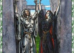 Celtic Oracle Deck (Druids) - art by Maxine Miller