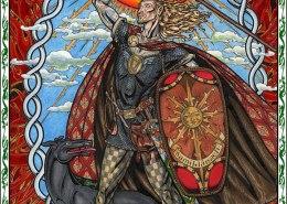 Celtic Oracle Deck (Lugh) - art by Maxine Miller