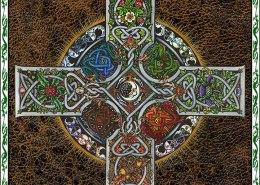Celtic Oracle Deck (Back) - art by Maxine Miller