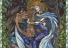 Celtic Oracle Deck (Taliesin) - art by Maxine Miller