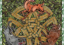 Celtic Oracle Deck (Magickal Animals) - art by Maxine Miller