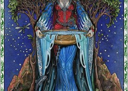 Celtic Oracle Deck (Danu) - art by Maxine Miller