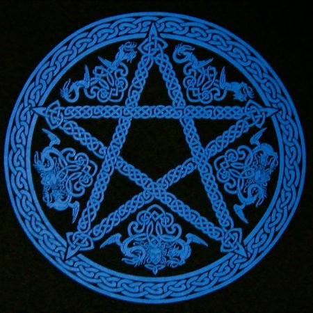 Men's Celtic Pentagram T-shirt: Design by Maxine Miller