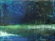 """""""Storm at the Pass 2"""" https://www.etsy.com/listing/469150414/storm-at-the-pass-2-mixed-media-painting"""