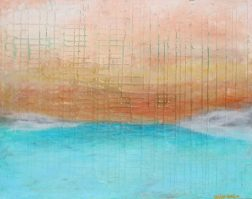 """""""Morning View"""" mixed media https://www.etsy.com/listing/495190791/morning-view-20x30-abstract-surrealist"""