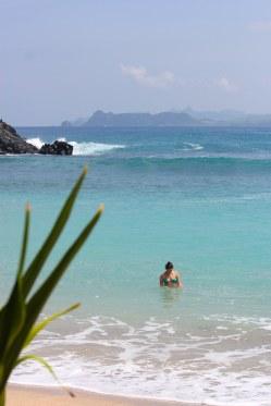 Taking a dip at Mawi