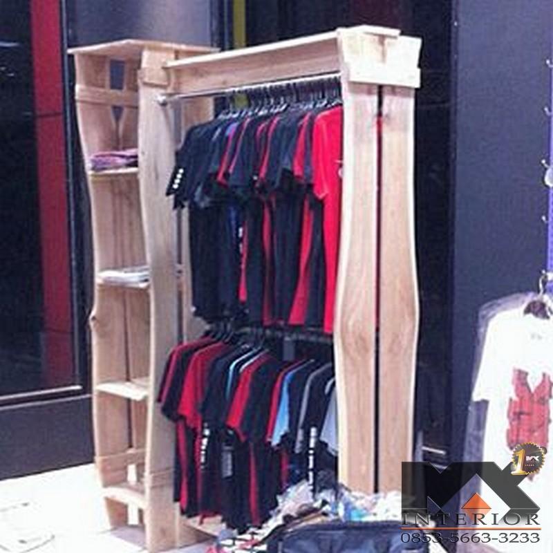 Lihat Interior Toko Jakarta Max Desain Rak Baju Distro di