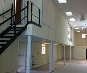mezzanine floor office design | mezzanine floors Ireland | mezzanine floors Dublin | office mezzanine floor