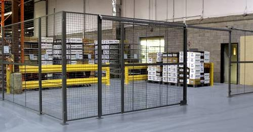 MaxiStor suppliers of Troax partitions | security mesh partitions | wire mesh partitions | metal mesh partitions | security cages | wire mesh partitions for indoor and outdoor use
