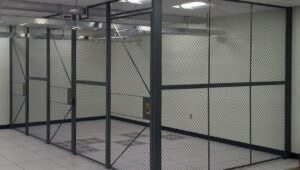 industrial mesh partitions ||  Troax partitions | security mesh partitions | wire mesh partitions | metal mesh partitions