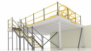 Mezzanine floor suppliers Cork | industrial steel mezzanine floors Cork