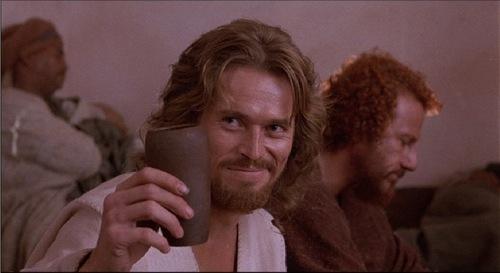 jesus-drinking